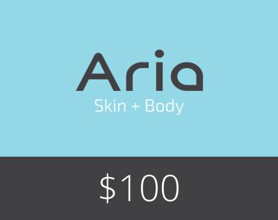 Gift Card $100 - Aria Skin and Body