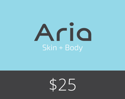 Gift Card $25 - Aria Skin and Body