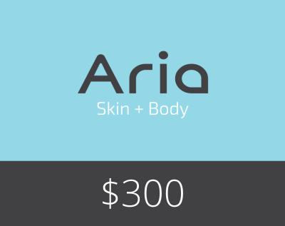 Gift Card $300 - Aria Skin and Body