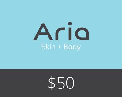 Gift Card $50 - Aria Skin and Body